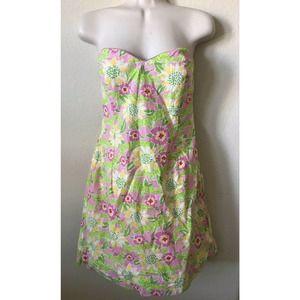 Lilly Pulitzer Pnk Alligator Frisky Business Dress